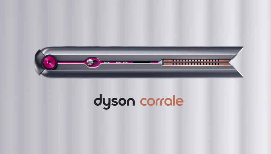 Lisseur fer à lisser Dyson Corrale pour cheveux